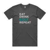 Eat Sleep Golf Repeat - Mens Staple T shirt 2