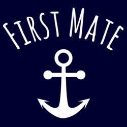 First Mate - Kids Youth T shirt Design