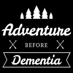 Adventure Before Dementia - Mens Staple T shirt Design