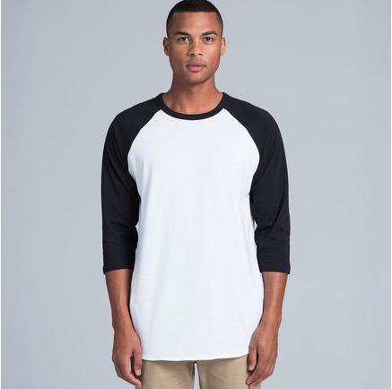 Unisex Raglan Tee T Shirt Printing Nz Design Your Own