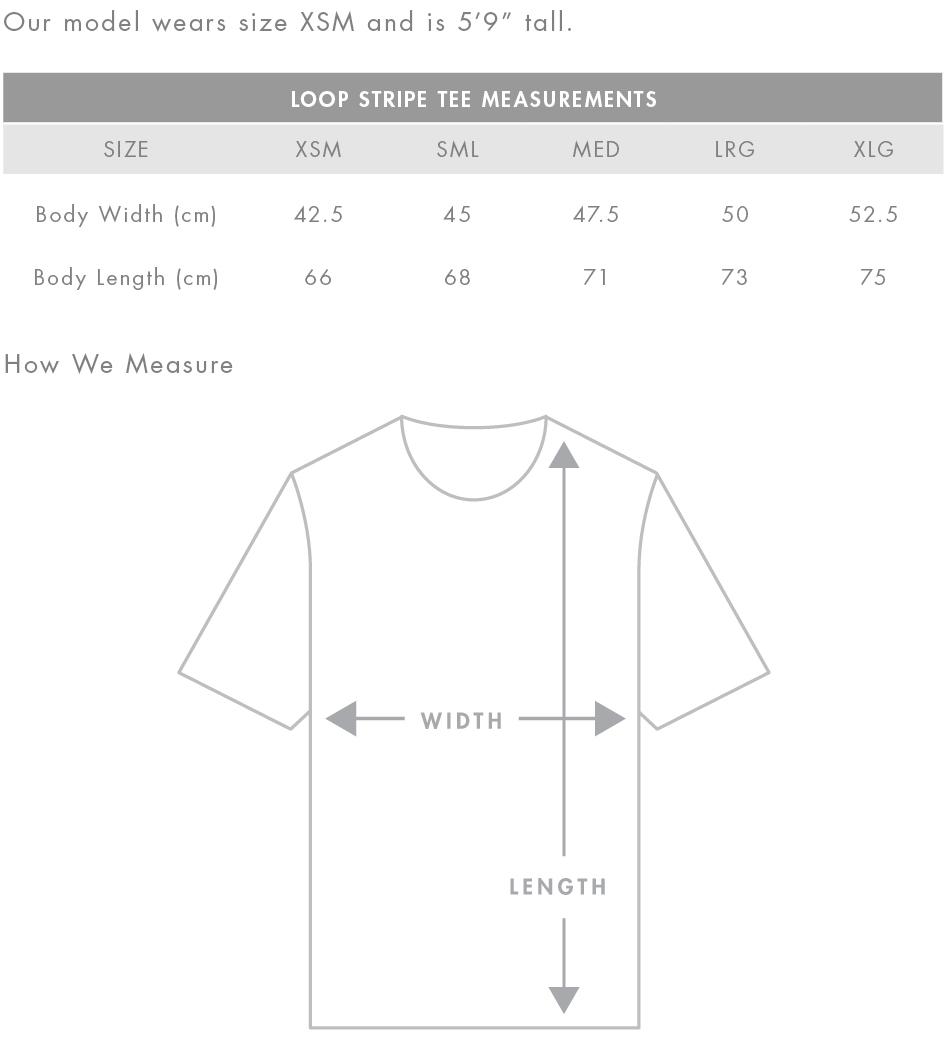 Design your t shirt nz - Size Chart