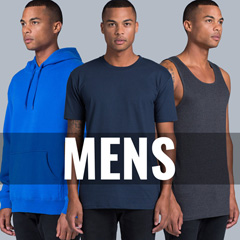 Mens Singlets, T-shirts and Hoodies