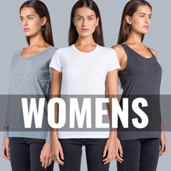 Womens Singlets, T-shirts and Hoodies