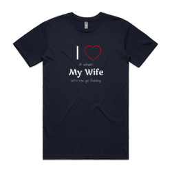 I love fishing, and my wife
