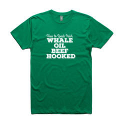 Whale Oil Beef Hooked - Mens Paper T Shirt