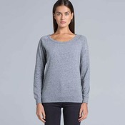 Womens Slouch Crew