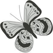 Girly Realistic Butterflies 17 Thumbnail