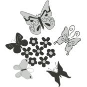 Girly Butterly Grouping 2 Thumbnail