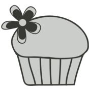 Girly   Cupcake and Flower Thumbnail