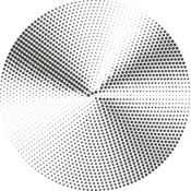 Halftone Radial Gradients 9 Thumbnail