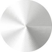 Halftone Radial Gradients 13 Thumbnail