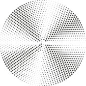 Halftone Radial Gradients 8 Thumbnail