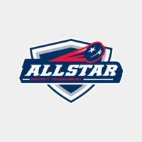 All Star Hockey Tournament logo template Thumbnail