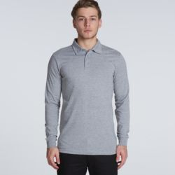 Mens Chad Longsleeve Polo Thumbnail
