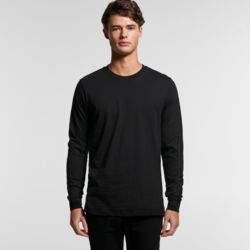 Mens Base Organic Long Sleeved Tee Thumbnail