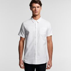 Mens Oxford Short Sleeve Shirt Thumbnail