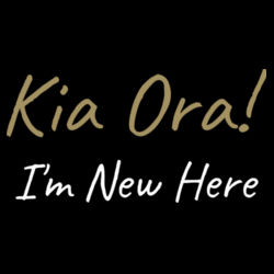Kia Ora! I'm New Here - Mini-Me One-Piece Design
