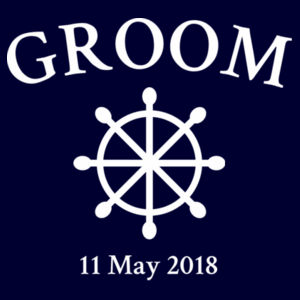 Nautical Groom - Mens Paper T Shirt Design