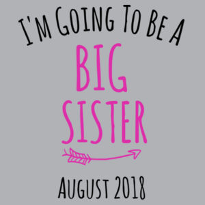 I'm Going To Be A Big Brother/Sister - Kids Wee Tee Design