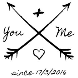 You And Me Since X/X/XXXX - Printable Design