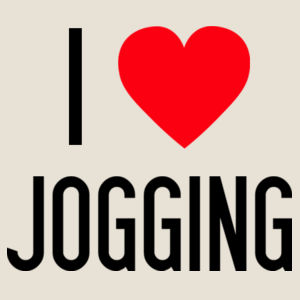 I Heart Jogging - Womens Mali Tee Design