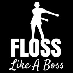 Floss Like A Boss - Mens Staple T shirt Design