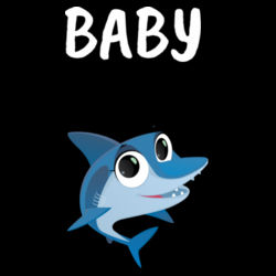 Baby Shark - Kids Youth T shirt Design