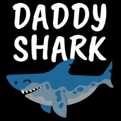 Daddy Shark - Mens Staple T shirt Design