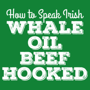 Whale Oil Beef Hooked - Mens Staple T shirt Design