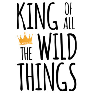 King of all the Wild Things - Mini-Me One-Piece Design
