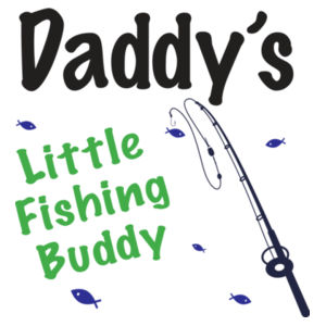 Daddy's Little Fishing Buddy - Mini-Me One-Piece Design