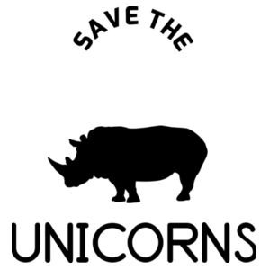 Save the Chubby Unicorns - Kids Youth T shirt Design