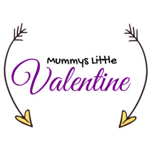 Mummys Little Valentine - Mini-Me One-Piece Design