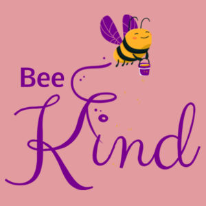 Bee Kind - Kids Youth T shirt Design