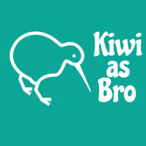 Kiwi As Bro - Mens Staple T shirt Design