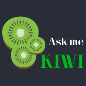 Ask Me About Kiwi - Womens Mali Tee Design