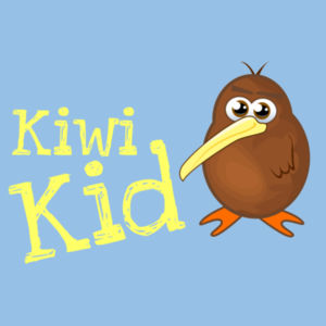 Kiwi Kid - Kids Youth T shirt Design