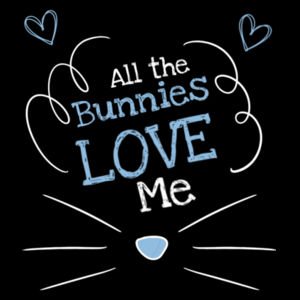 All The Bunnies Love Me - Customised Onesie - Mini-Me One-Piece Design