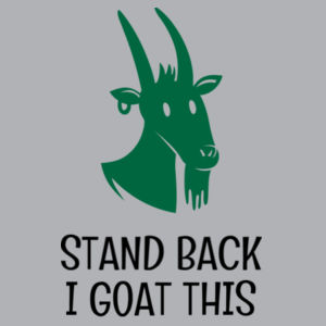 Stand Back I Goat This - Funny Custom Kids T Shirt - Kids Wee Tee Design
