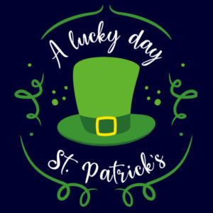 A Lucky Day - St. Patricks Day - Custom Apron - Apron 2 Design