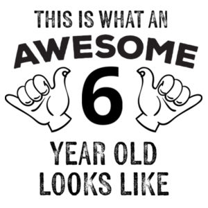 Awesome Kids Custom Tee - Kids Youth T shirt Design