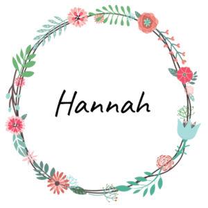 Floral Wreath - Small Banner (A4) Design