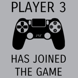 Player 3 Has Joined The Game - Kids Wee Tee Design