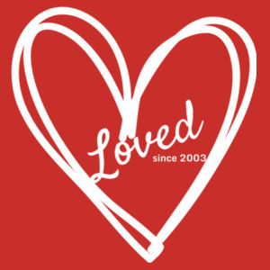 Loved Since 2003 - Womens Maple Tee Design
