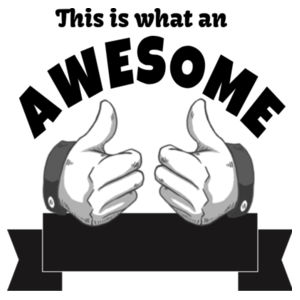 This Is What A Awesome Dad To Be Looks Like - Custom T Shirt - Mens Staple T shirt Design