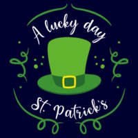 A Lucky Day - St. Patricks Day - Custom Apron - Apron Design