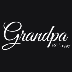 Personalised Grandparent T Shirt - Mens Basic Tee Design
