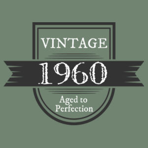 Vintage Aged To Perfection - Personalised Custom Birthday T Shirt - Mens Staple T shirt Design