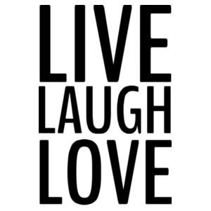 Live, Laugh, Love - Custom Personalised Cushion Cover - Cushion cover Design