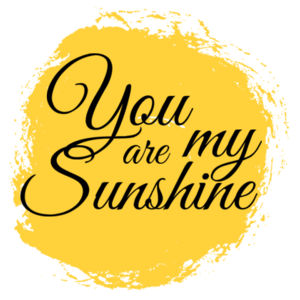 You Are My Sunshine - Custom Personalised Cushion Cover - Cushion cover Design